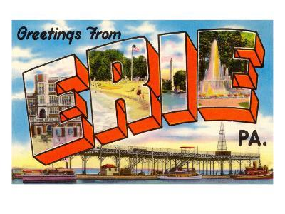 Greetings from Erie, Pennsylvania