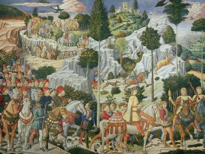 Procession of the Magi: Wall with Lorenzo