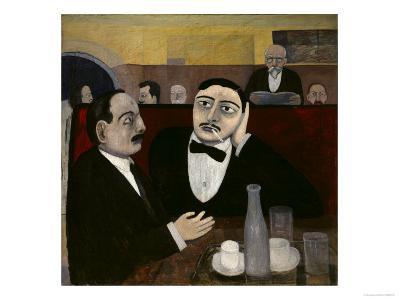 The Intellectuals at La Rotonde