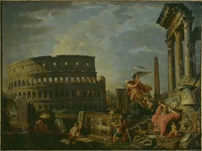 Landscape With Colosseum