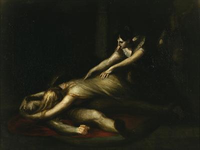 Kriemhild Throws Herself on Siegfried's Corpse