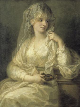 Portrait of a Lady As a Vestal Virgin