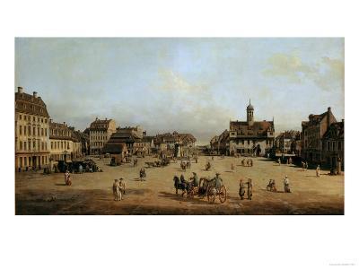 The Market in Dresden