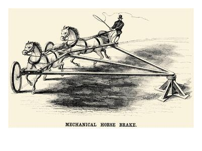 Mechanical Horse Brake