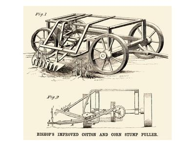 Bishop's Improved Cotton and Corn Stump Puller