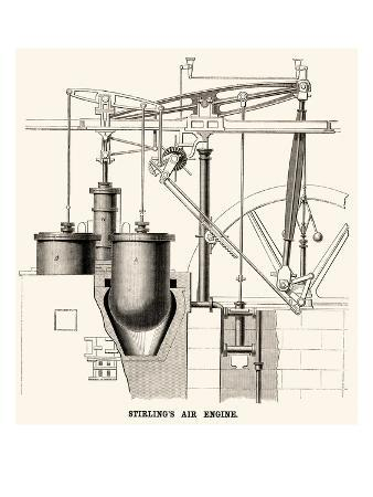 Stirling's Air Engine