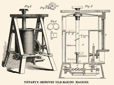 Tiffany's Improved Tile Making Machine
