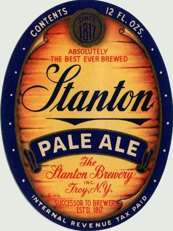 Stanton Pale Ale Beer