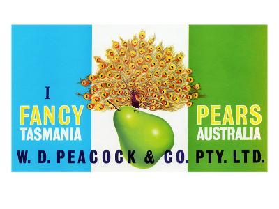Peacock Pears