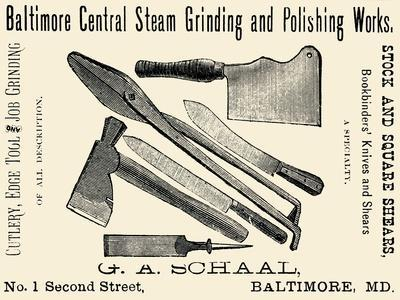 Baltimore Central Steam Grinding and Polishing Works