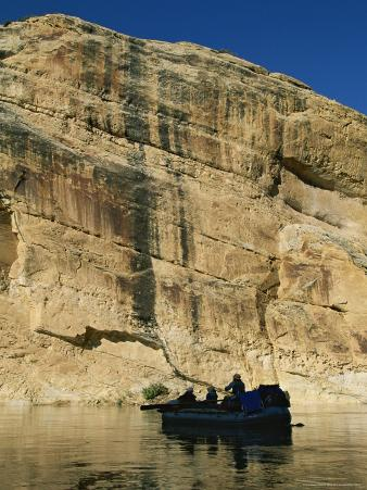 Rafting on the Yampa River Through Dinosaur National Monument