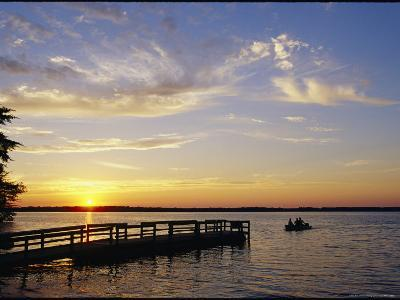 Anglers Returning to Dock, Pymatuning State Park