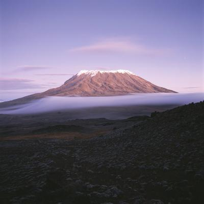 View of Snow-Capped Mount Kilimanjaro From Mawenzi Tarn
