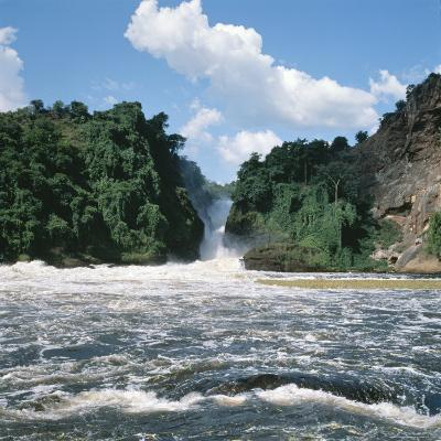 Waterfall at Uganda's Murchison Falls