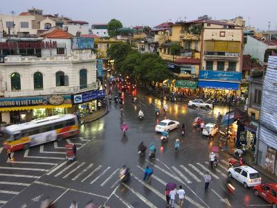 Traffic Intersection, Downtown Hanoi