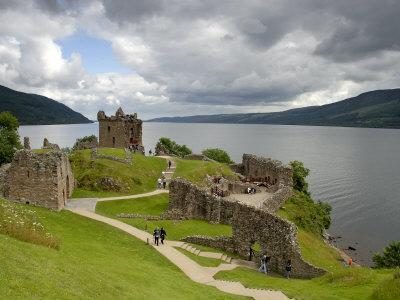 Urqhart Castle and Loch Ness