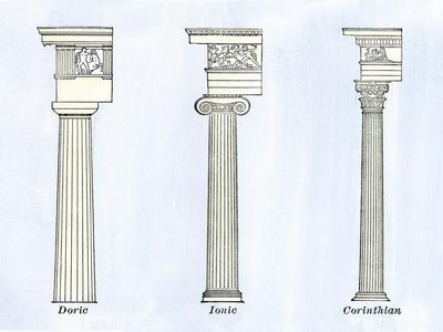 Classical Styles of Columns - Doric, Ionic, and Corinthian Architecture