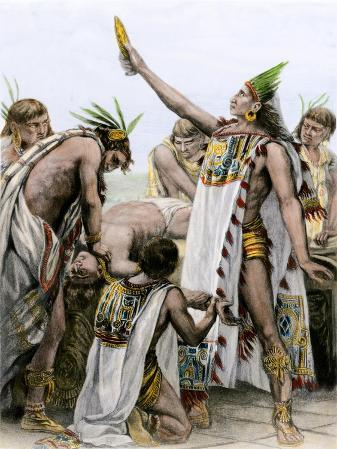 Aztec Practice of Human Sacrifice in Ancient Mexico