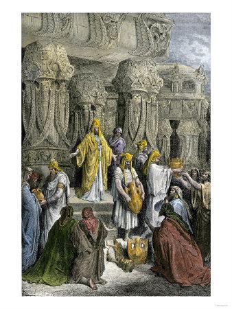Cyrus Ii, King of Persia, Restoring the Hebrews' Sacred Vessels