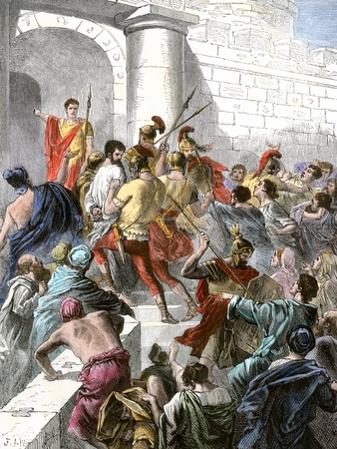 Apostle Paul Arrested in Jerusalem and Taken before the Roman Authorities