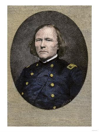 Kit Carson, in His Civil War Uniform, as Commander of First New Mexico Volunteers