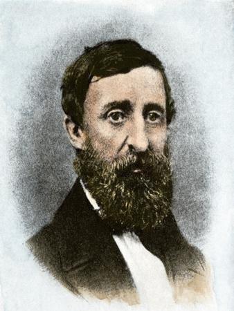 Henry David Thoreau at Age 43