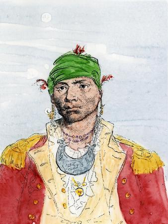 Alexander Mcgillivray, Creek Leader, Late 1700s