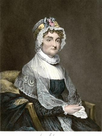 Abigail Adams, with Her Autograph