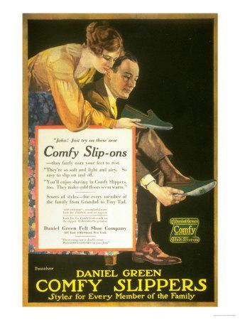 Daniel Green Comfy Slippers, USA, 1920
