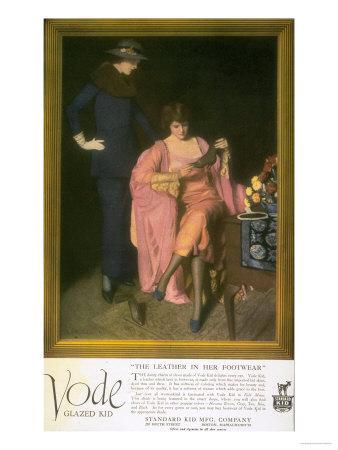 Women's Vode Shoes, USA, 1910