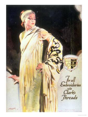 Clark's Threads, Women's Coats, UK, 1920