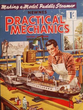 Practical Mechanics, Models Hobbies Magazine, UK, 1950