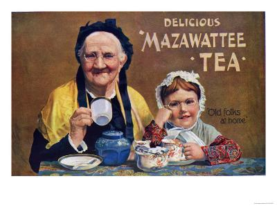 Mazawattee, Tea, UK, 1890