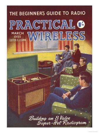 Practical Wireless, Radios Listening To Music DIY Hi-Fi Magazine, UK, 1950