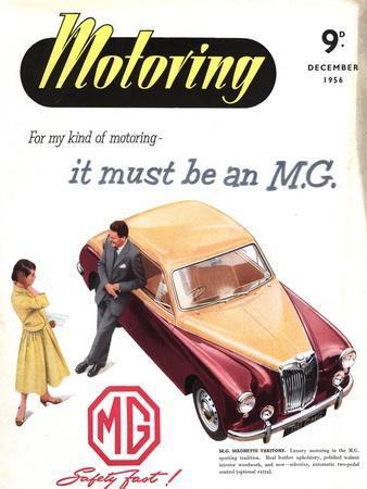 MG Cars, UK, 1950