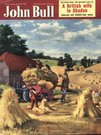 John Bull, Farming Harvesting Magazine, UK, 1951
