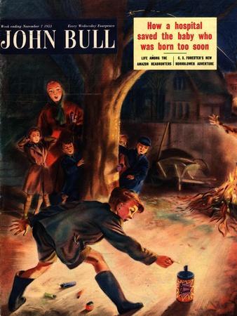 John Bull, Guy Fawkes Fireworks Magazine, UK, 1953
