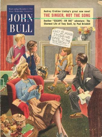 John Bull, Birthdays Magazine, UK, 1950