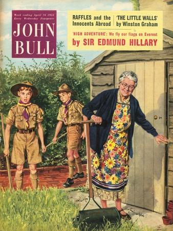 John Bull, Bob a Job Sheds Boy Scouts Magazine, UK, 1950