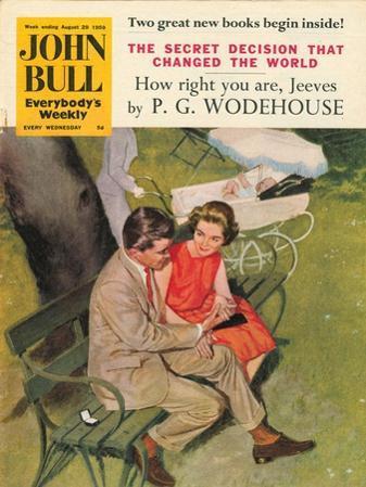 John Bull, Dating Parks Benches Magazine, UK, 1950