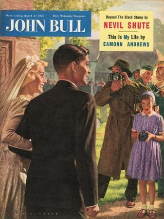 John Bull, Wedding Magazine, UK, 1950