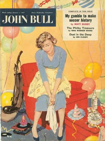 John Bull, Hoovers Cleaning Products Magazine, UK, 1957