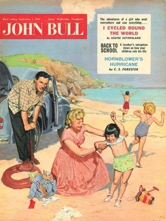 John Bull, Holiday Expressions Beaches Seaside Inflatables Magazine, UK, 1950