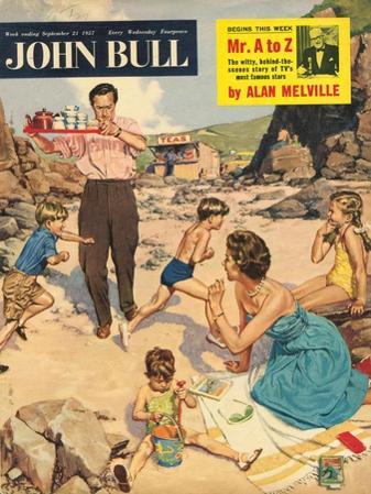 John Bull, Holiday Beaches Seaside Magazine, UK, 1950
