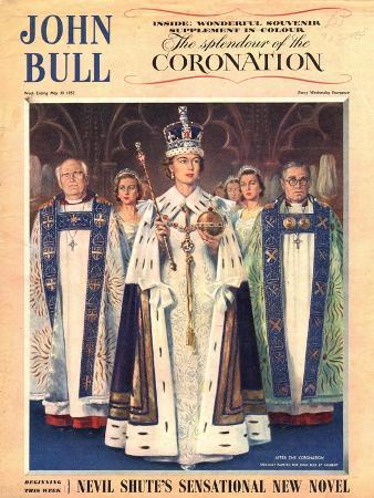 John Bull, Coronation Queen Elizabeth Womens, UK, 1953