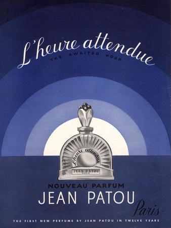 Jean Patou L'Heure Attendue, USA, 1930