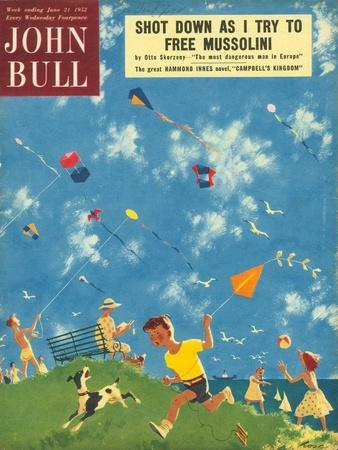 John Bull, Kites, Children Games Magazine, UK, 1950