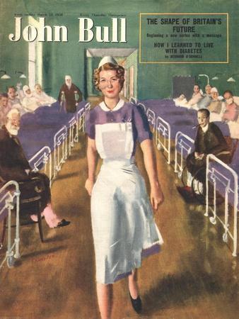 John Bull, Hospital Nurses Magazine, UK, 1950