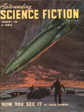 Astounding, Space Ships Aliens, Pulp Fiction, UFOs Magazine, USA, 1940