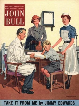 John Bull, Children Accidents and Injuries Magazine, UK, 1950